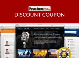 PremiumPress discount coupon